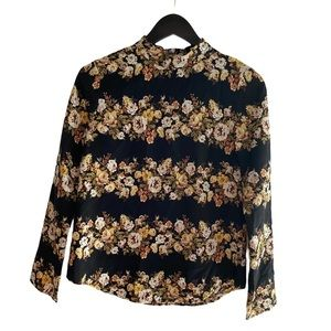 Wayf Polyester Floral Blouse